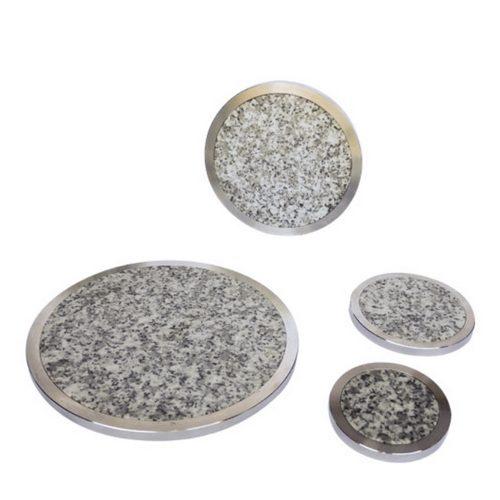 disques granit et alu