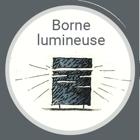 ZOOM-DESSIN-BORNE LUMINEUSE-450X450